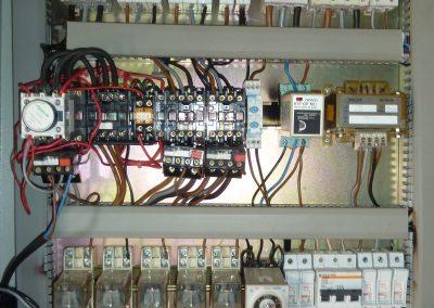 Cuadro de mandos baja tensión