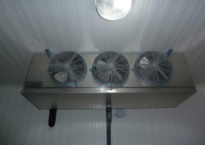 Unidad interior de una cámara frigo rífica