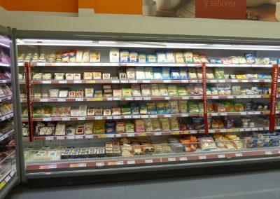 Vitrinas expositoras de alimento refrigeradas